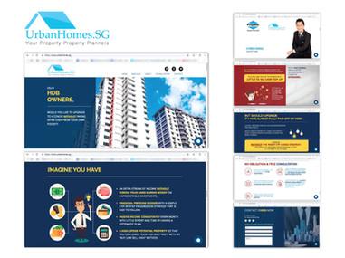 Website Development - UrbanHomes.SG