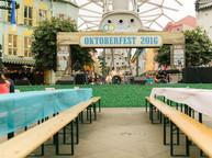 Stage Backdrop - Oktoberfest 2015