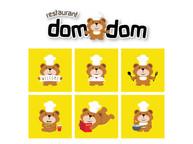 Domdom Bear Mascot