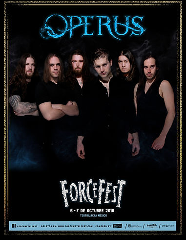 Operus at Force Fest Mexico 2018