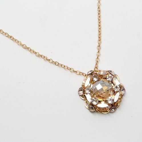 Round Drop Necklace