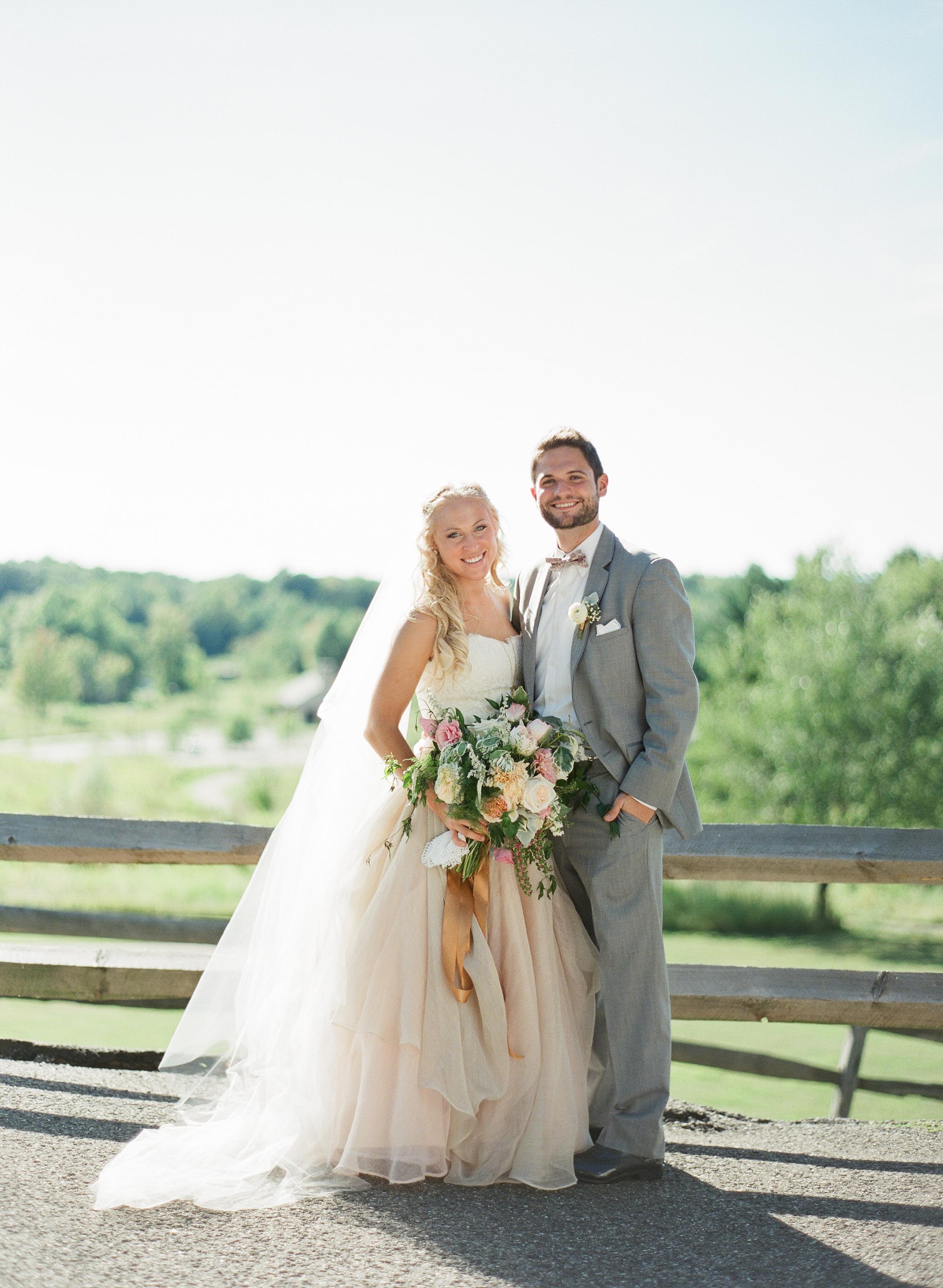 Real Wedding: A Cleveland Boho Garden Party Wedding | Boutique ...