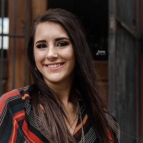 Hannah's Fort Worth Senior Shoot