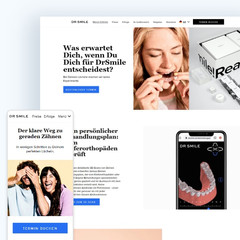 DrSmile Website