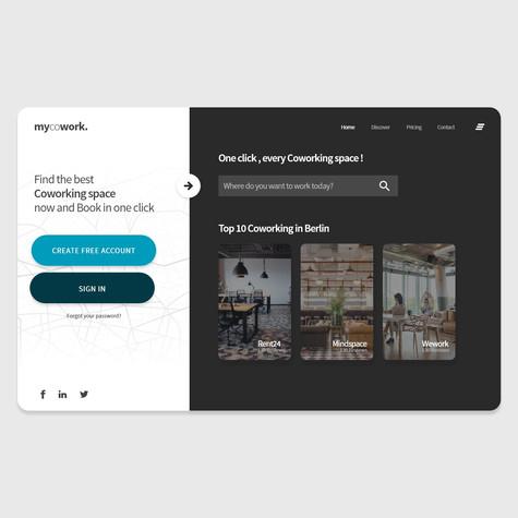 mycowork Website