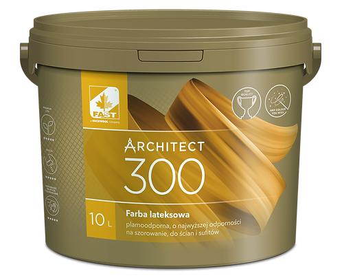Architect 300 farba ceramiczna, plamoodporna, odporna na szorowanie