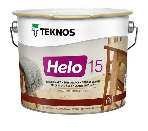 Teknos Helo 15 - lakier rozpuszczalnikowy, matowy