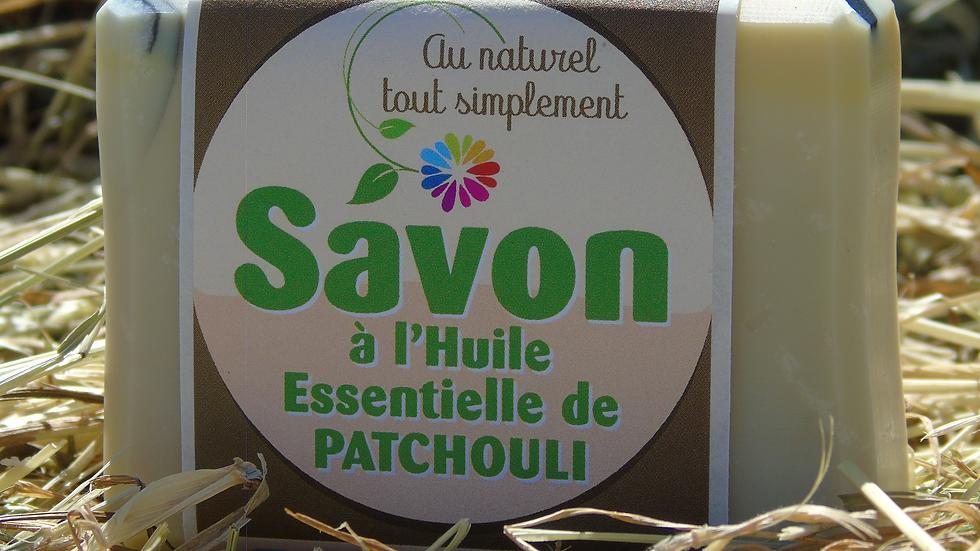 Savon à l'huile essentielle de patchouli