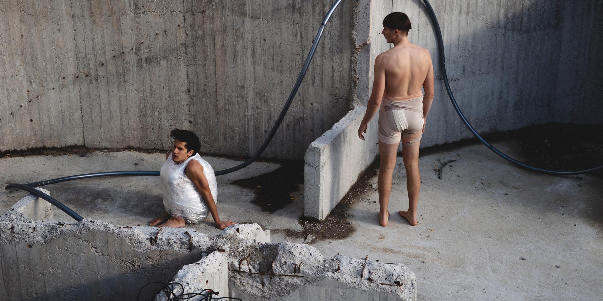 H O M A N - Collectif Malunés / Vincent Bruyninckx & Vejde Grind