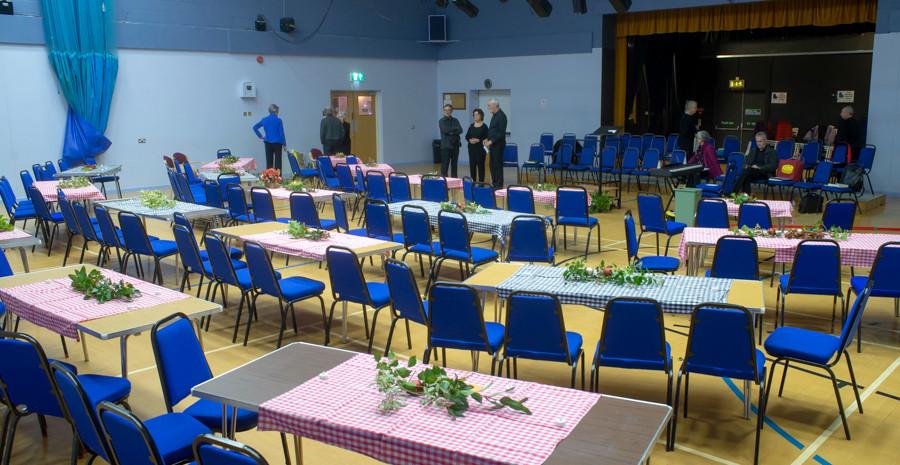 Christmas Concert 2018, Teign Valley Community Hall
