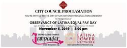 Latina Proclamation