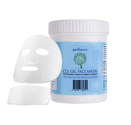 Carboxy Co2 Gel Face Mask (Face & Neck) - 500g