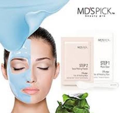 MD'S Pick Water Rubber Mask (Korea)-Aqua Glow-1ct.
