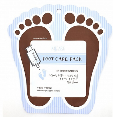 MJ Care Foot Care Pack ­Moisturising Socks 2 pack