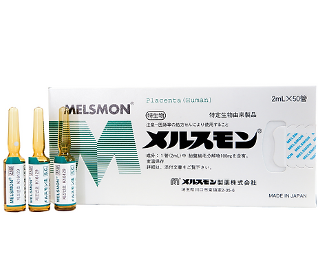 MELSMON Placenta - 50 vials-2ml. -1 box (Korea)