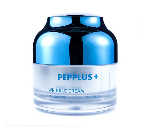 Anti-wrinkle face cream with peptides PEPPLUS+ - 50 g