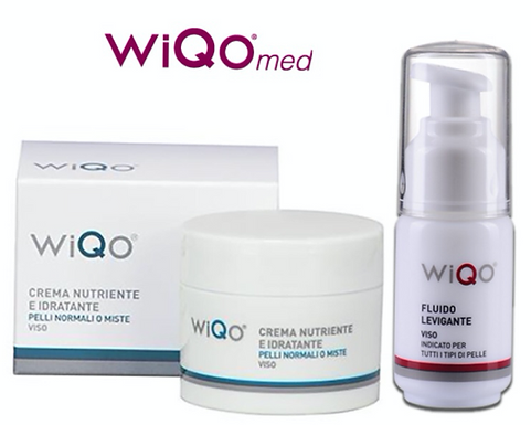 WiQO Med Cream (For Dry Skin)+WiQO Smoothing Fluid-30ml