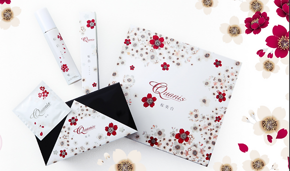 Quanis Whitening Sakura- Bihaku Set from Japan