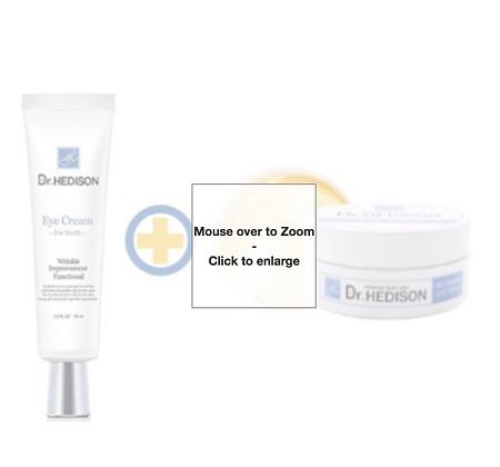 Dr. Hedison Eye Cream For Youth-30ml + Dr. Hedison Eye Returning Eye Patches-60pcs