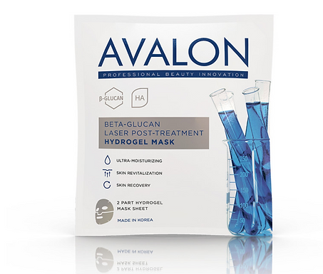 Avalon Beta-Glucan Laser Post-Treatment Hydrogel Mask - 30g (Korea)