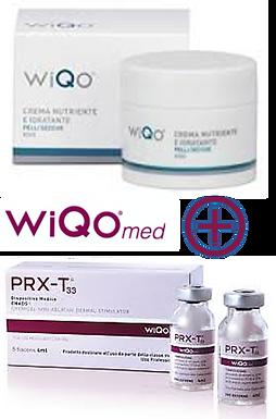 PRX-T33 Peel, Non-Invasive Biorevitalisation+WiQO Med Cream
