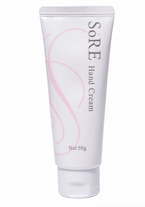 SoRE Hand Cream with Shea Butter and Placenta Extract (50ml)