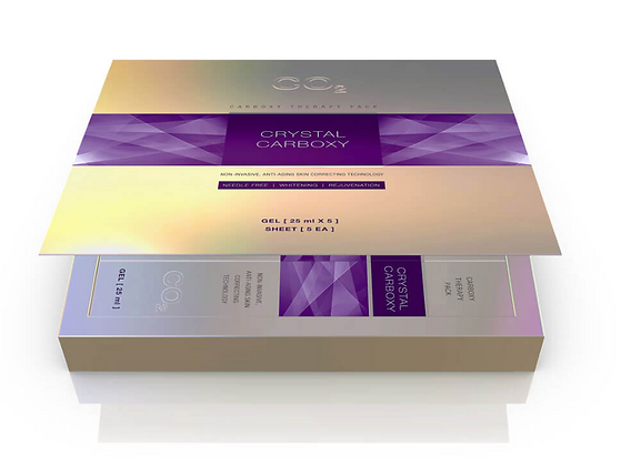 Crystal Carboxy CO2 mask Gel Set - 5 treatments