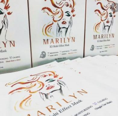 Marilyn Multi Effect mask, Skin Repair, Moisturing and Firming - 1 pcs