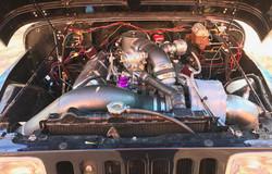 454 Turbo Engine