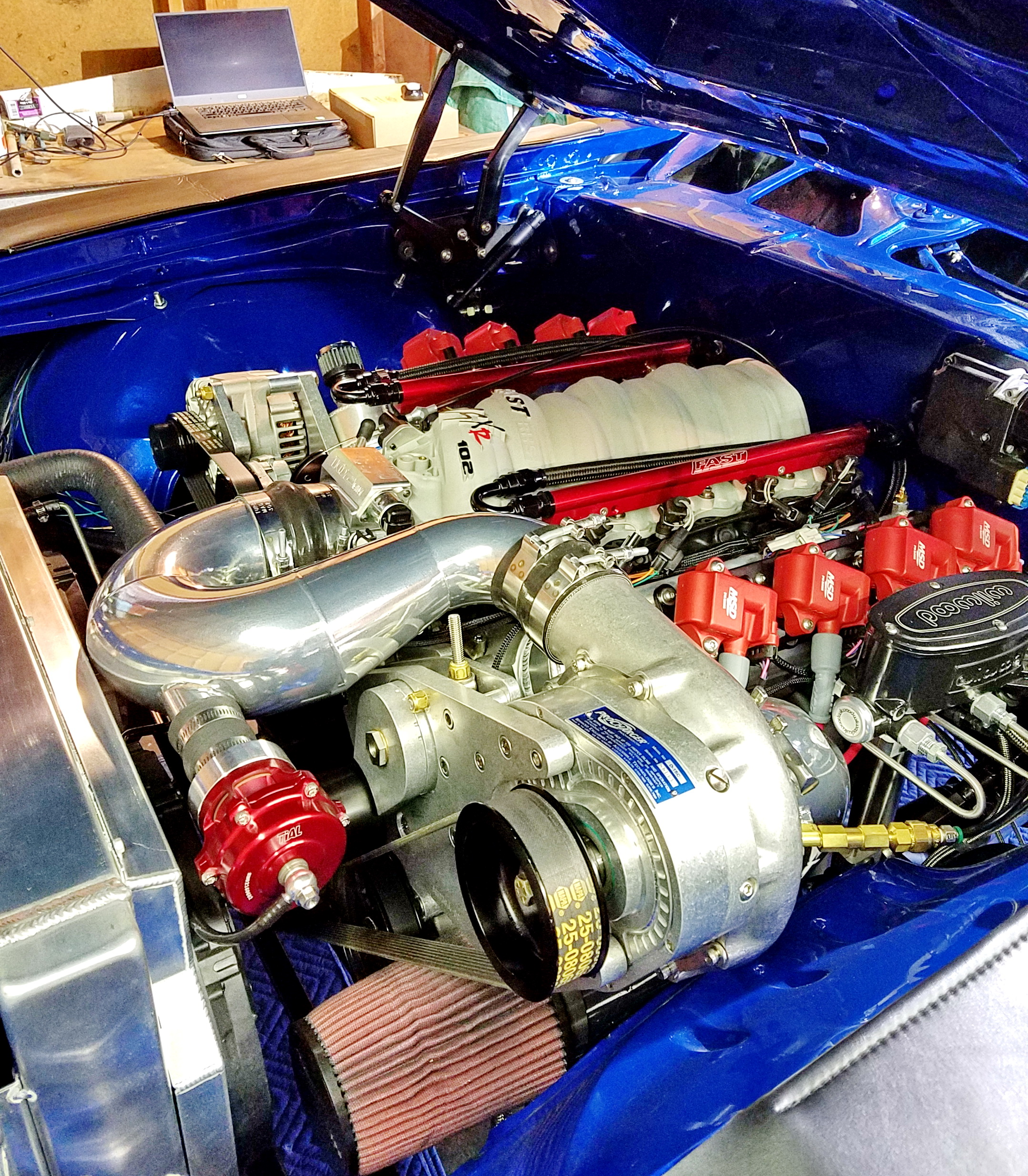 Procharged LS Engine