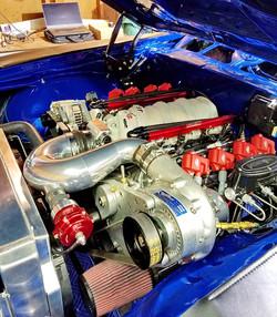 Procharged LS Engine