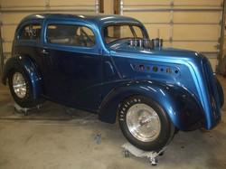 8 Stack drag car