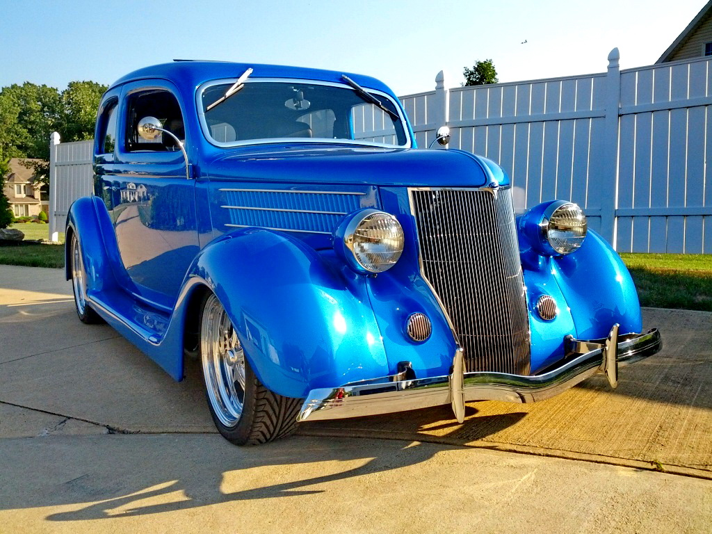 Nice rod with Buick 231