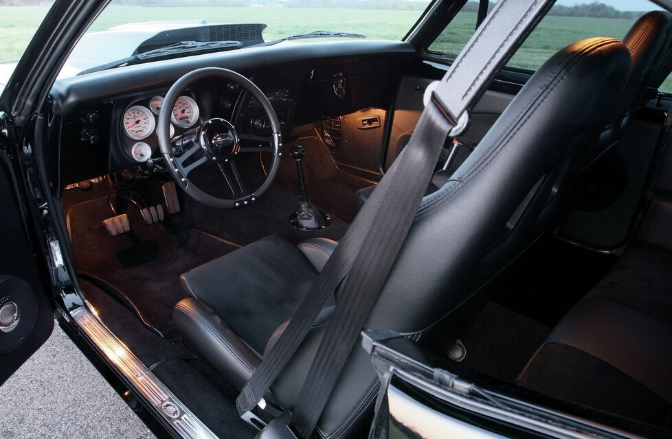 Doesn't get much better interior