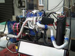 Turbo 4 on dyno