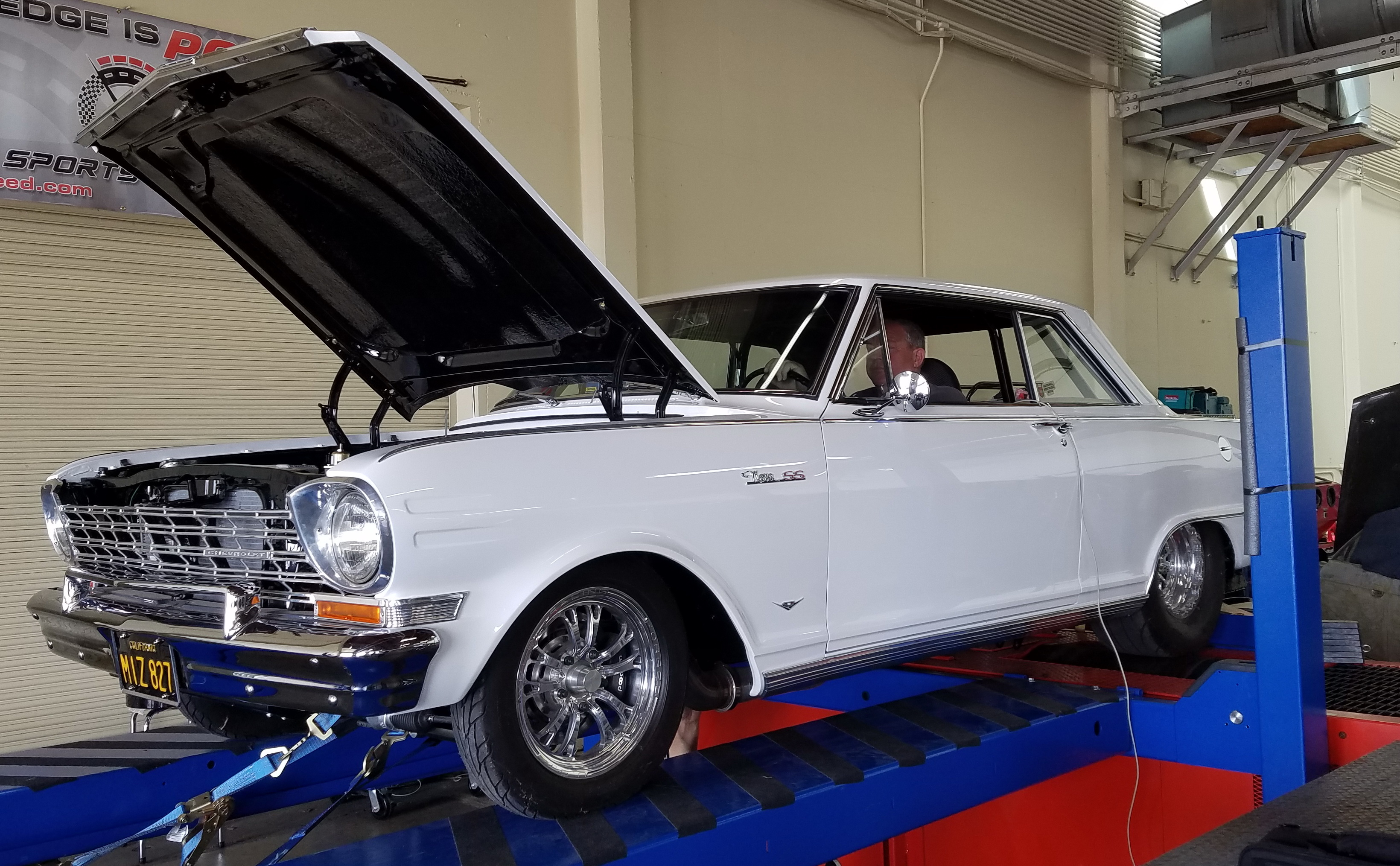 Chev-II on dyno 2