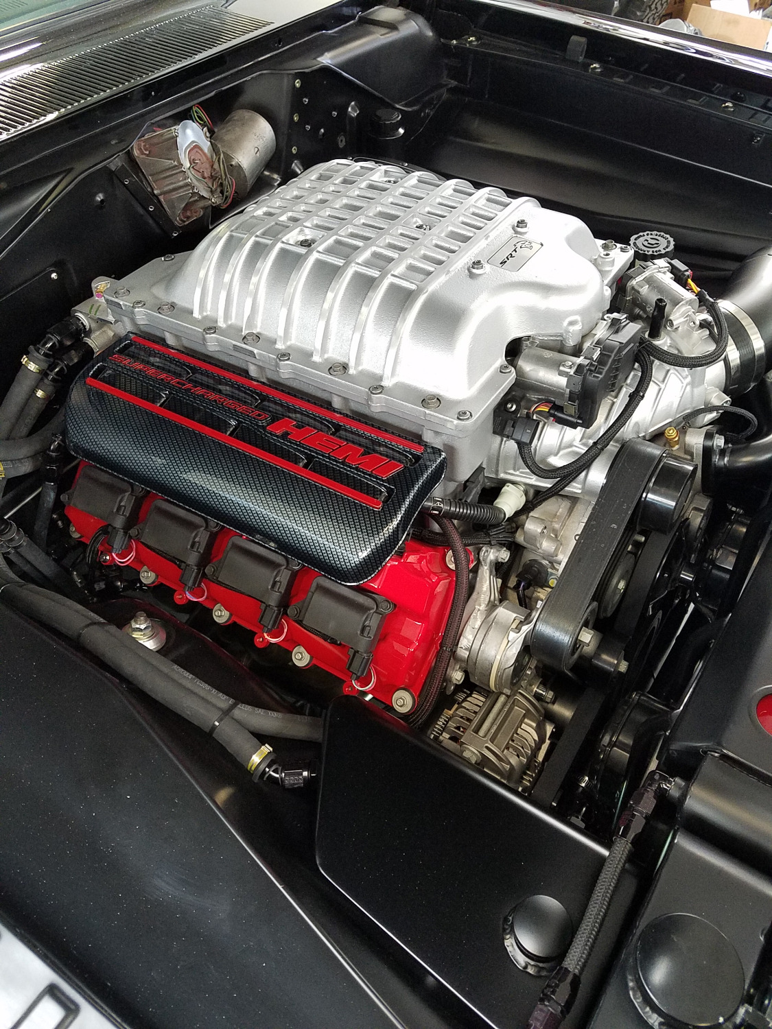 700+ HP Hellcat Engine