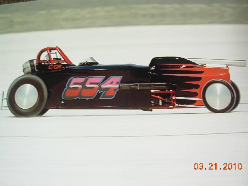 554 Bonnevile Car