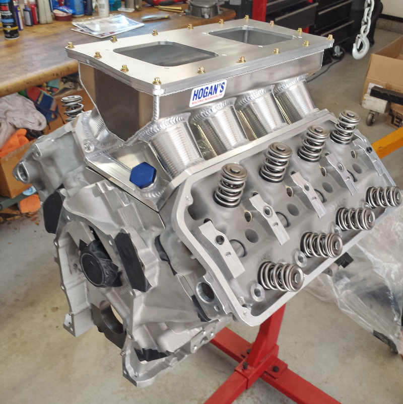 Progress on a new HEMI I'm building