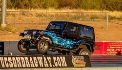 454 Turbo Jeep wheelstand