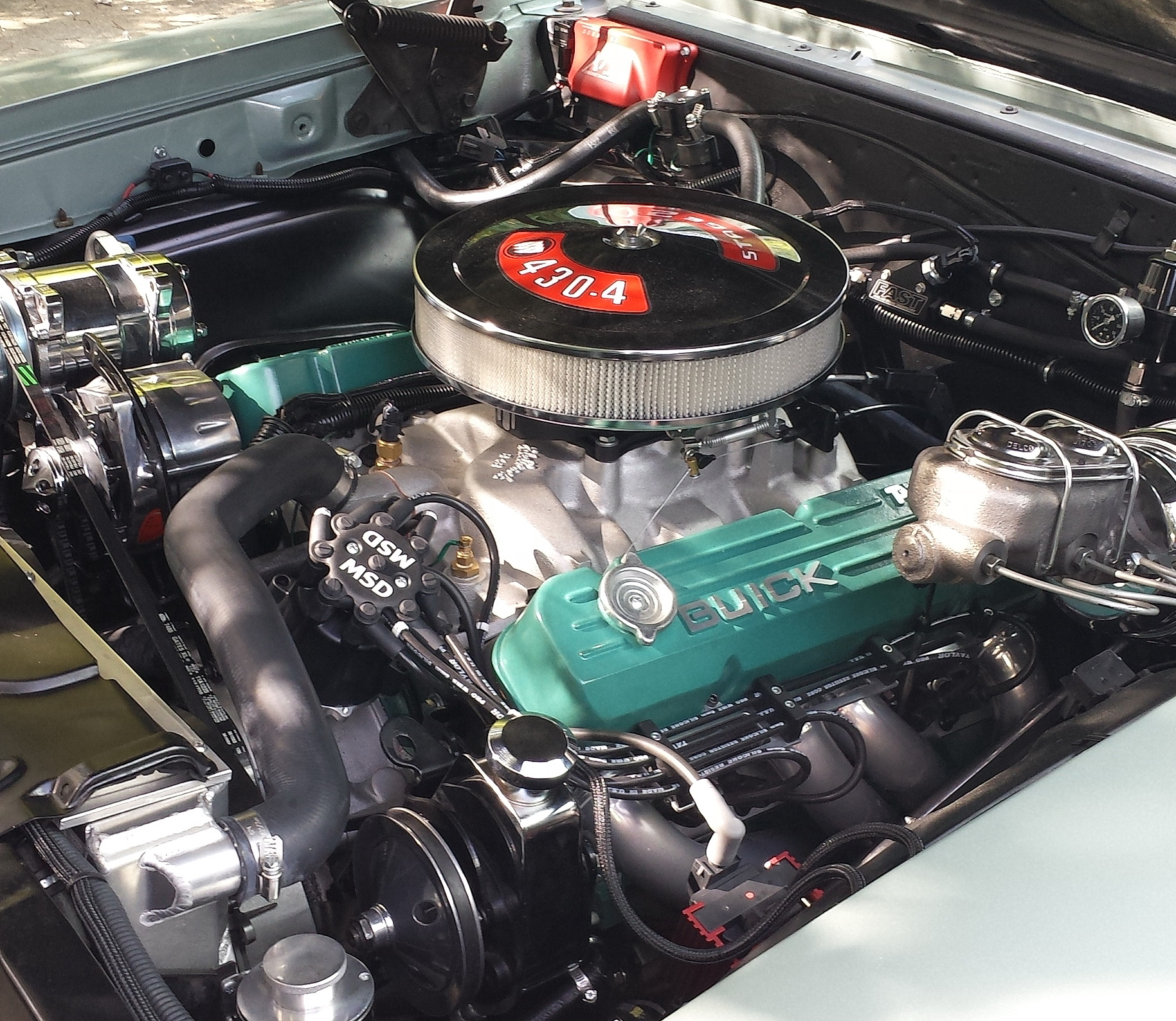 455 Buick Engine