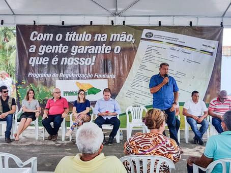 Prefeitura de Mâncio Lima e Governo do Acre entregam 500 títulos definitivos no bairro centro