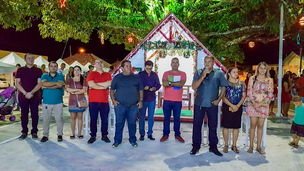 Prefeito Isaac Lima fala sobre a alegria de realizar a 2ª edição do Acender de Luzes de Natal na cidade