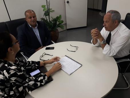 Prefeito Isaac Lima participa de reunião no Ministério da Defesa com Gerente do Programa Calha Norte