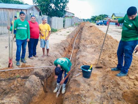 Prefeitura de Mâncio Lima e DEPASA realizam ampliação da rede de água no bairro Cobal