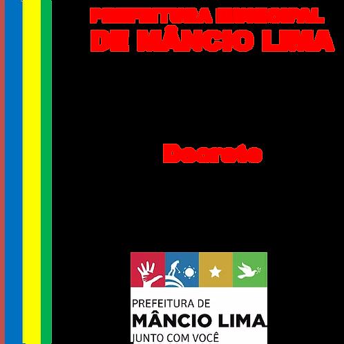 DECRETO Nº 003 DE 10 JANEIRO DE 2019