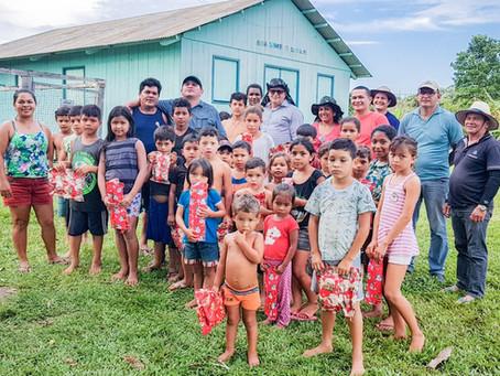 Prefeito Isaac Lima visita as comunidades do Rio Moa e Rio Azul