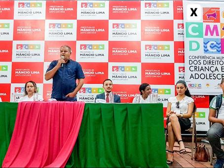 X Conferência Municipal dos Direitos da Criança e do Adolescente acontece em Mâncio Lima