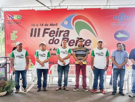 Mâncio Lima comercializa 13 toneladas de pescado e injeta mais de R$ 150 mil na economia