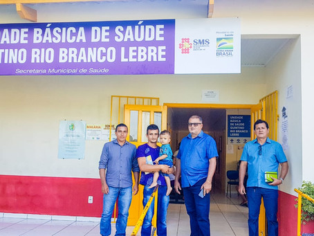 Isaac Lima visita unidades de saúde e assistência social do município